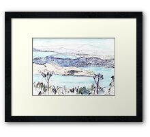 From Mount Nelson Framed Print