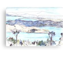 From Mount Nelson Canvas Print