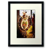 Native Glow Framed Print