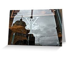 Icons in Reflection Greeting Card
