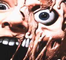 Garden of Delete Deluxe Vinyl Cover melting face Sticker