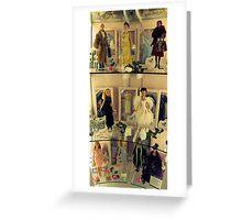 Designer Dolls Greeting Card