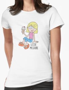 Lizzie Mcguire Womens Fitted T-Shirt