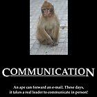 Communication Poster by Allen Lucas