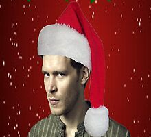 The Vampire Diaries - Santa Klaus Christmas Card by rachick123
