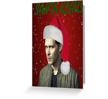 The Vampire Diaries - Santa Klaus Christmas Card Greeting Card