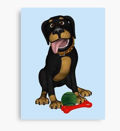 Goofy George  Canvas Print