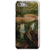 Wild Mushrooms #7786YH iPhone Case/Skin