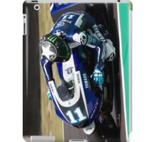 Ben Spies in Mugello 2011 iPad Case/Skin