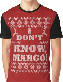 "Christmas Vacation - ""I DON'T KNOW MARGO!"" Graphic T-Shirt"