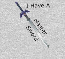 My Master Sword by beingavenged