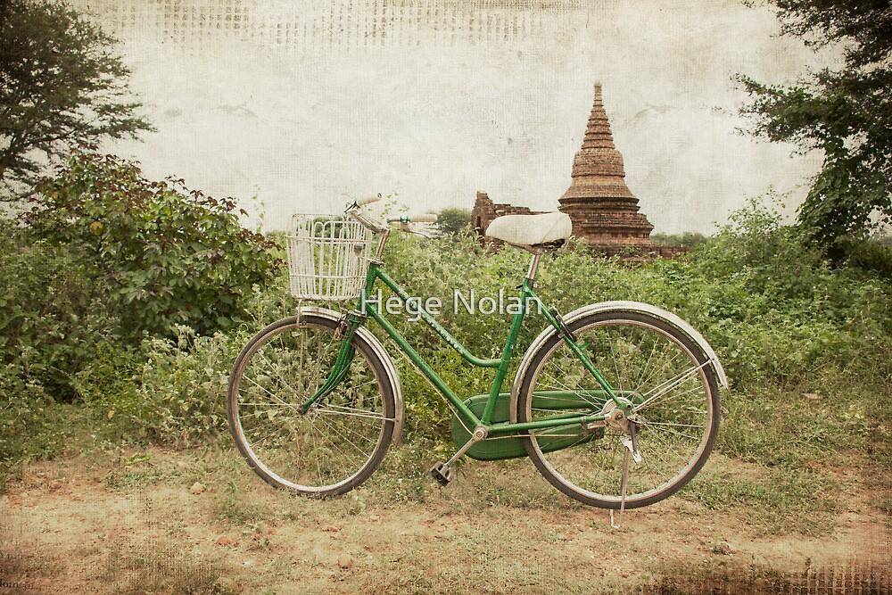 Bagan Chariot by Hege Nolan