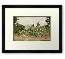 Bagan Chariot Framed Print