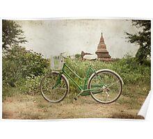 Bagan Chariot Poster