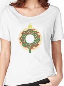Christmas Doughnut Women's Relaxed Fit T-Shirt