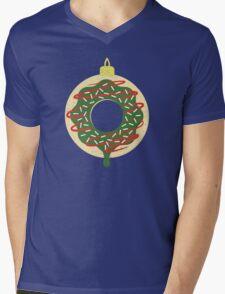 Christmas Doughnut Mens V-Neck T-Shirt