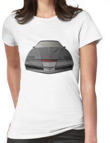 Knight Rider KITT Car  Womens Fitted T-Shirt