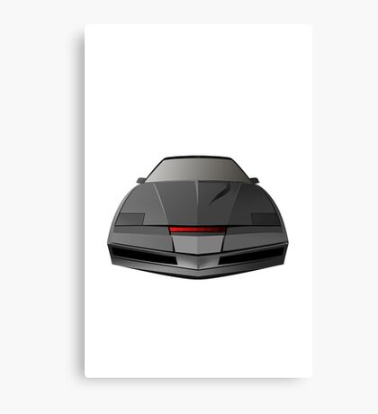 Knight Rider KITT Car  Canvas Print