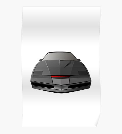 Knight Rider KITT Car  Poster