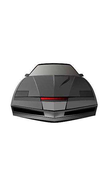 Knight Rider KITT Car  by Creative Spectator