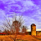 Old Farm Buildings by EBArt
