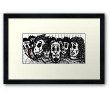 The Gang's All Here Framed Print