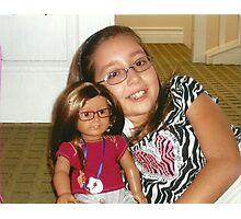 "Presenting Alexandra & her ""Mini-Me"" Alexis:-)! Photographic Print"