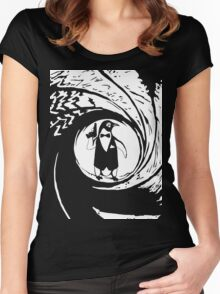 Double Oh Penguin Women's Fitted Scoop T-Shirt