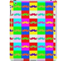 Mustache by Warhol iPad Case/Skin