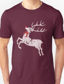 Vintage Christmas Rudolph the red nose Reindeer T-Shirt