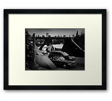 Adam Crew- Ollie - Chicago - Photo Bart Jones Framed Print