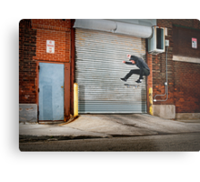 Marty Murawski - Frontside Flip - Chicago - Photo Bart Jones Metal Print