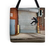 Marty Murawski - Frontside Flip - Chicago - Photo Bart Jones Tote Bag
