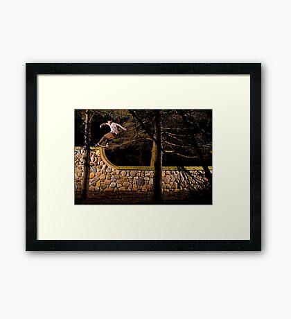 Tom Gallagher - Front Rock - St Charles, IL - Photo Bart Jones Framed Print