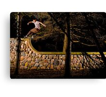 Tom Gallagher - Front Rock - St Charles, IL - Photo Bart Jones Canvas Print