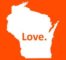 Wisconsin Love Kids Tee