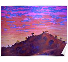 Sunset At Cowra Poster