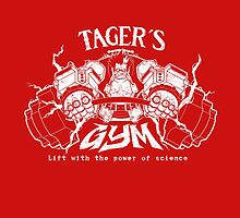 Tager's gym by coinbox tees