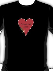 Cut Out and Keep T-Shirt