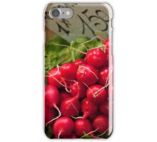 Bright Red Radishes iPhone Case/Skin