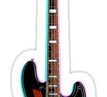 Jazz Bass Sticker