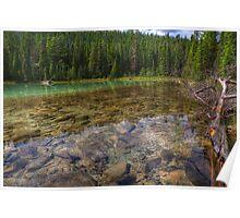 Rocky Cobblestones - 1st Lake Poster