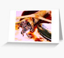 Food- White Rabbit Restaurant  Greeting Card