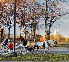 White carriage by Eugenia Gorac