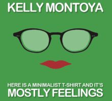 Mostly Feelings Album T-Shirt  by kellymontoya