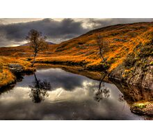 The Pool Of Autumn Photographic Print