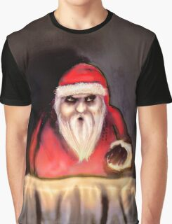 Black Xmas: Santa Claus is Here Graphic T-Shirt