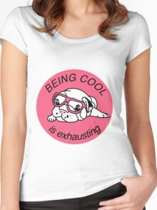 Cool dog Women's Fitted Scoop T-Shirt