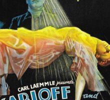 Black Cat - Poe Karloff and Lugosi Sticker