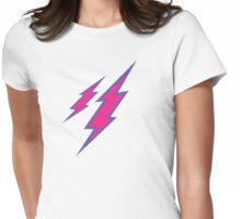 Pink Spark Womens Fitted T-Shirt
